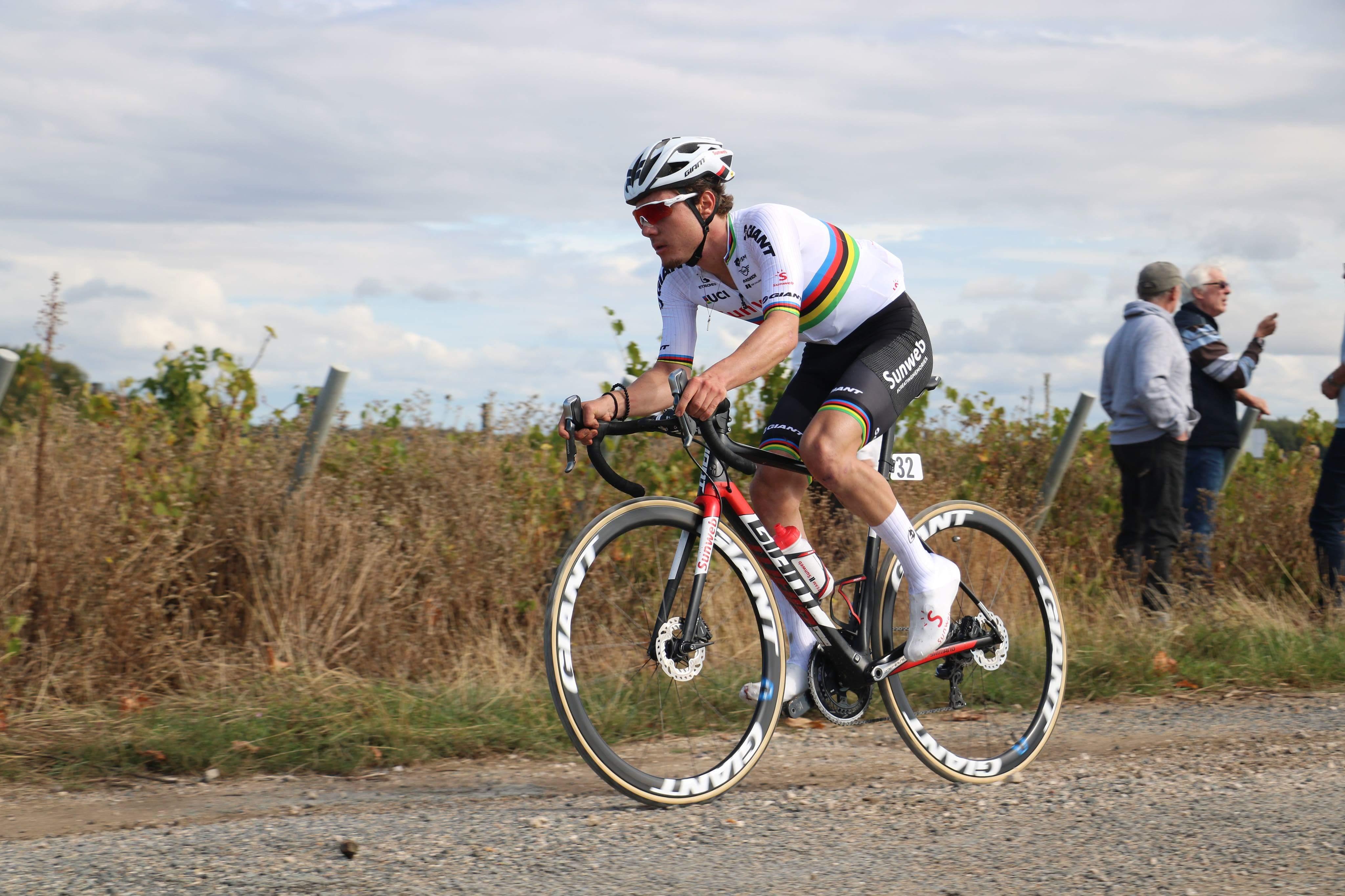 Marc Hirschi U23 World Champion Team Giant Sunweb