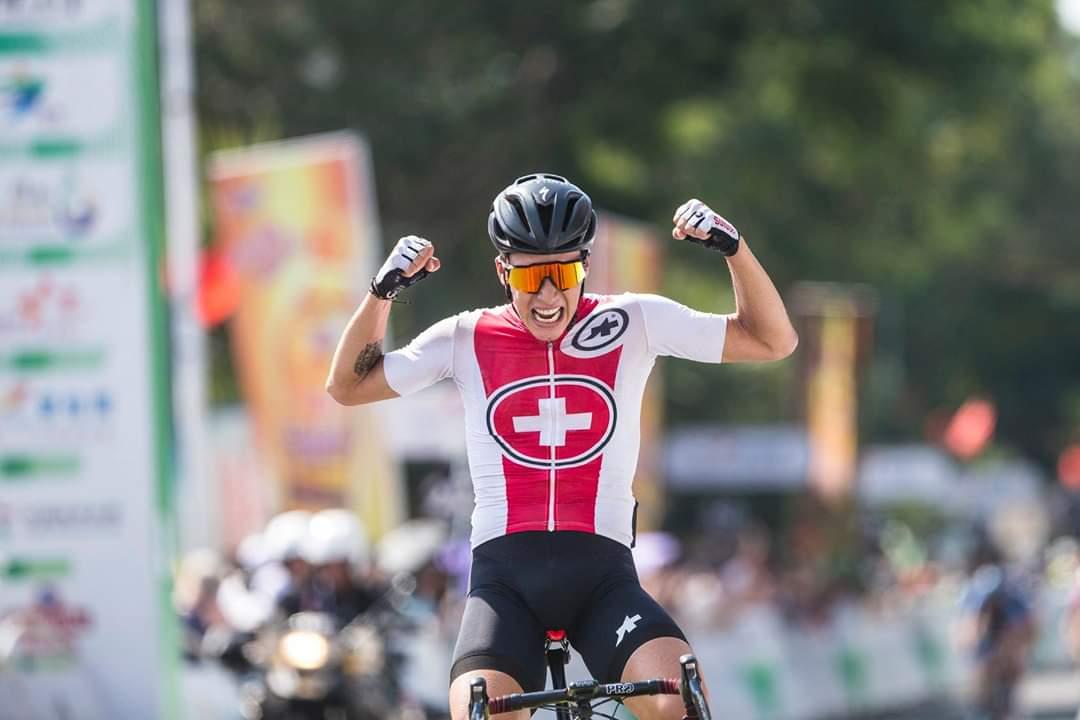 Simon Pellaud win in Tour of Hainan